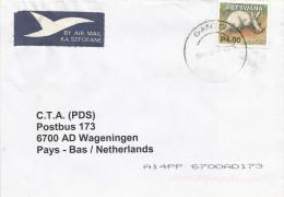 Botswana 2004 Gantsi Aardvark Cover - Botswana (1966-...)