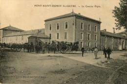 PONT SAINT ESPRIT (30) Caserne Pépin Militaires Animation - Pont-Saint-Esprit
