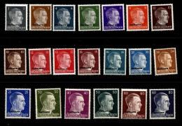 OSTLAND Mi 1-20 MNH OG - 1941-43 Occupation: Germany