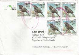 Botswana 2002 Bobonong Buffalo Weaver Bird 50t Cover - Botswana (1966-...)