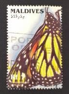Maldives / 1996 / Mi 2664 / Used  / Butterfly - Maldiven (1965-...)