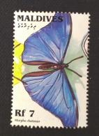 Maldives / 1996 / Mi 2668 / Used  / Butterfly - Maldiven (1965-...)