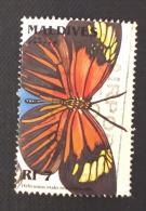 Maldives / 1996 / Mi 2670 / Used  / Butterfly - Maldiven (1965-...)