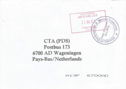 Seychelles 2007 Victoria Postage Paid Official Unfranked Cover - Seychellen (1976-...)
