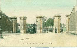 Lille - La Porte Louis XIV - Lille