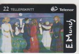 Norway - E. Munch Livets Dans - N-134 - Norway