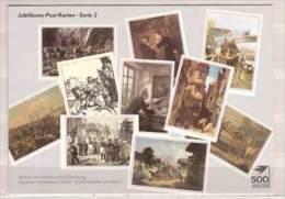 Jubiläums Post Karten - Serie 2 - Post & Briefboten