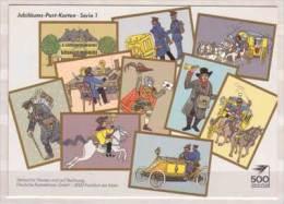 Jubiläums Post Karten - Serie 1 - Post & Briefboten