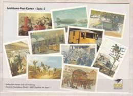 Jubiläums Post Karten - Serie 5 , Vom Postillion Zum Telefon - Post & Briefboten