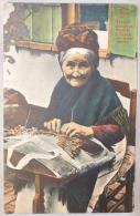 Brugge/Bruges. Dentellière Flamande. A Flamish Lace-maker Woman. Marcovici. - Brugge