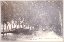Digoin. Levée Du Canal Du Paradis. - Digoin