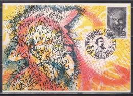 = Carte Postale Frédéric Mistral 1er Jour 13 Maillane 06 09 1980 N°2098 écrivain Et Lexicographe Français De Langue D'oc - Ecrivains