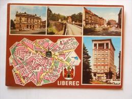 Czech Republic  - Liberec - Map Carte    - 115137 - Tsjechië