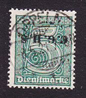 Upper Silesia, Scott #O39, Used, German Stamp Overprinted, Issued 1920 - Allemagne