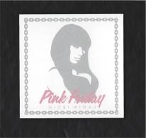 CARTE BUVARD MEXICAINE PINK FRIDAY DE NICKI MINAJ - Perfume Cards