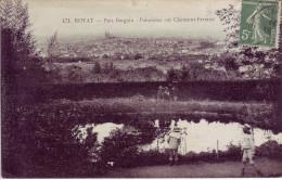 63 - PUY DE DÔME - Royat - Parc Bargoin. Panorama Sur Clermont Ferrand - Carte Animée - - Royat