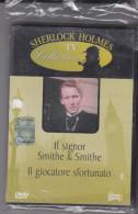 """DVD Sherlock Holmes """"Il Signor Smithe & Smithe E Il Giocatore Sfortunato"""" Nuovo Da Edicola - Policiers"""