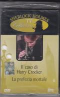 """DVD Sherlock Holmes """"Il Caso Di Harry Crocker E La Profezia Mortale"""" Nuovo Da Edicola - Policiers"""