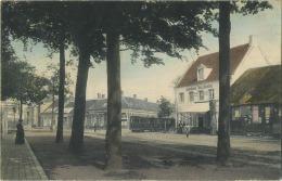 Merxem - Merksem :  TRAM - Ouden Bareel -  TRAM (  Geschreven Met Zegel 1908 ) - Belgique