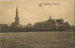 Borsbeek :  Panorama  (  Geschreven Met Zegels ) - Borsbeek