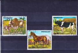 Y&T N° PA 729-731 ° - Paraguay