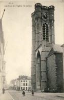 CPA  -  ATH - La Tour De L´Eglise St-Julien - 2 Scans - Ath