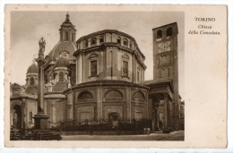 ITALIE . TORINO . CHIESA DELLA CONSOLATA - Réf. N°5262 - - Churches