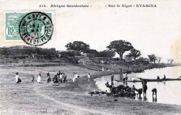 NYAMINA (Mali) Sur Le Niger, Afrique Occidentale, Gelaufen 1911, Seltene Frankierung - Mali