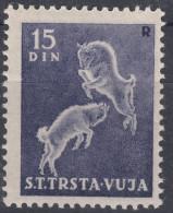 Triest Zone B STT Vujna 1950 Mi#42, Sassone#29 Mint Hinged - Mint/hinged