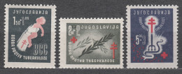 Yugoslavia Republic 1948 Mi#536-538 Mint Never Hinged - Unused Stamps