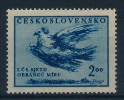 **Czechoslovakia 1951 Mi 643 Peace Dove Pablo Picasso MNH - Ungebraucht