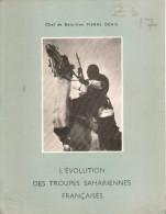 EVOLUTION DES TROUPES SAHARIENNES FRANCAISES SAHARA MEHARISTE ARMEE AFRIQUE DESERT SAHARIEN 1804 1964