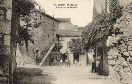 61*     CHAUZON     -     PLACE  DE  LA  REMON - France
