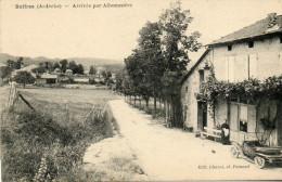 61*    BOFFRES     -     ARRIVEE  PAR  ALBOUSSIERE - France