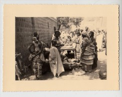 Tchad - Fort Lamy - Photo originale - March� - Format 11.8 x 9 cm