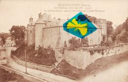 ECAUSSINES - LALAING - Le Château Fort Du 15é Siècle, En Restauration Sous La Direction De L'abbé Puissant - Ecaussinnes