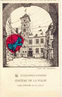 ECAUSSINES -  D'ENGHIEN - Château De La Follie - Cour Intérieure Du XVI é Siècle - Ecaussinnes