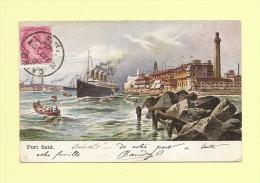 Port Said - Cairo - Le Caire - 10-11-1907 - Égypte