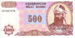 AZERBAÏDJAN   500 Manat  Emission De 1993   Pick 19 B        ***** BILLET  NEUF ***** - Azerbaïjan