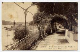 Alg�rie--BONE (ANNABA)--1931--Hotel Transatlantique-La Pergola et Route de la Mer  n� 98 �d LL