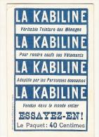 Chromo - Kabine La FLANDRE  - TTB - Chromos