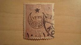 Turkey   1898  Scott #B38  Used - Used Stamps