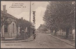 33----ARES--Un Coin De La Place Et Route De Bordeaux-- - Autres Communes