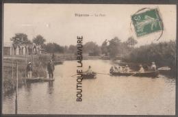 33----BIGANOS---Le Port----Barques -animé - Other Municipalities