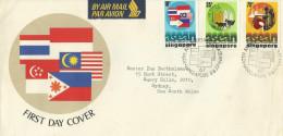 Singapore 1977 ASEAN Addressed FDC