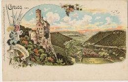 Gruss Aus Lichtenstein Litho Color  G. Hohlock Reutlingen - Liechtenstein
