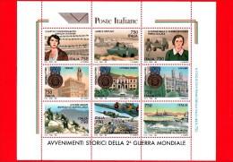 NUOVO -  ITALIA - 1995 - Avvenimenti Storici Della II Guerra Mondiale - 3ª Emissione - BLOCCO FOGLIETTO - 1991-00: Neufs