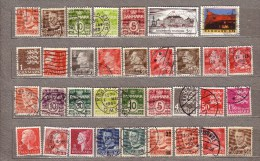 DANMARK DENMARK Used Gestempelt Oblitere Stamps Lot #8001 - Lotes & Colecciones