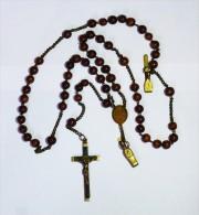 GRAND CHAPELET De Soeurs CARMELITES  Congrégation De JESUS Dans Le Temple, Religion - Religion & Esotérisme