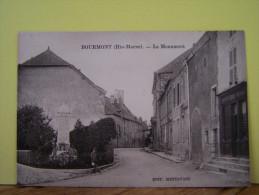 BOURMONT (HAUTE MARNE) LES COMMERCES. LES MAGASINS. LES MONUMENTS AUX MORTS. LE MONUMENT. - Bourmont